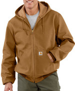 Carhartt Style Men�s Duck Active Jac/Thermal Lined J13100